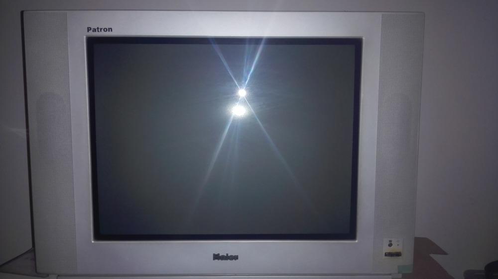 海爾顯像管電視,開機沒有任何圖像黑屏,還發出吧嗒吧嗒的聲音是怎么