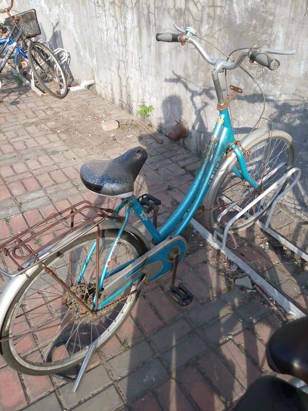自行车链子和脚踏是新换的