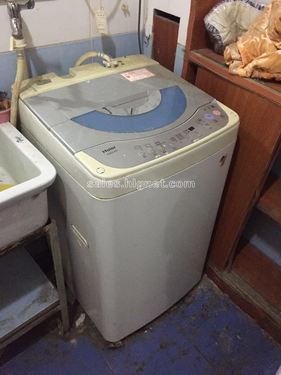 > 显示交易信息  海尔小神童洗衣机一台,正常使用,无维修史,面板有些