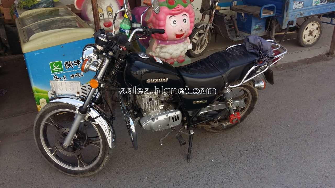 出售铃木gn125摩托车