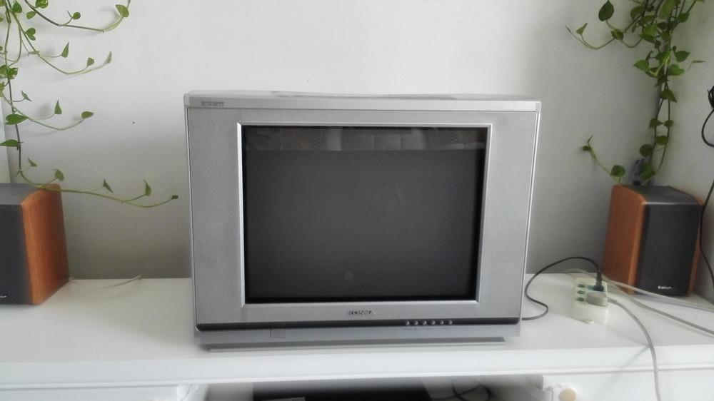 21寸纯平康佳电视 自家使用,图像和画面都非常好,现价50转让.