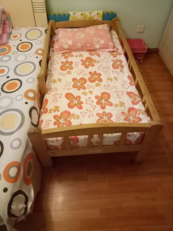 转让七成新儿童实木床,可用到小学五年级